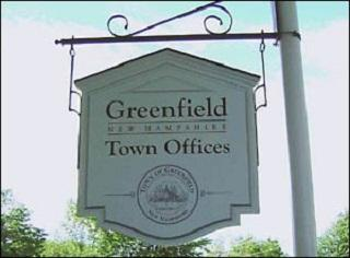 Town Office Sign